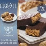 Proti Peanut Butter Cup VLC Protein Bars